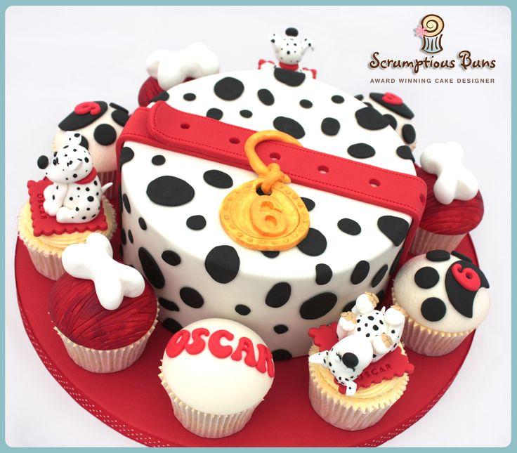 Dalmation Cake Ideas