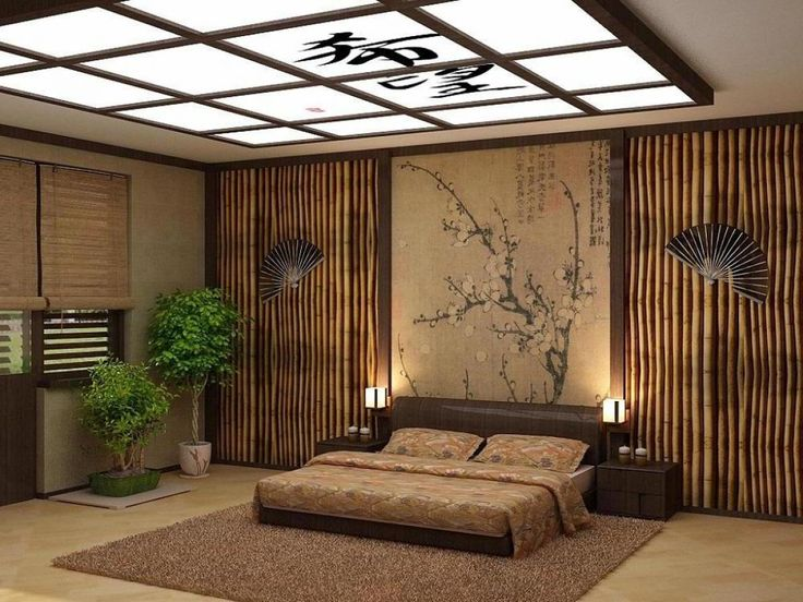 Space Saving Black Mini Bed Asian Bedding Decor Elegant Asian Style Black Melow Green Bed Sheet Brown Wooden Headboard Glamorous Black