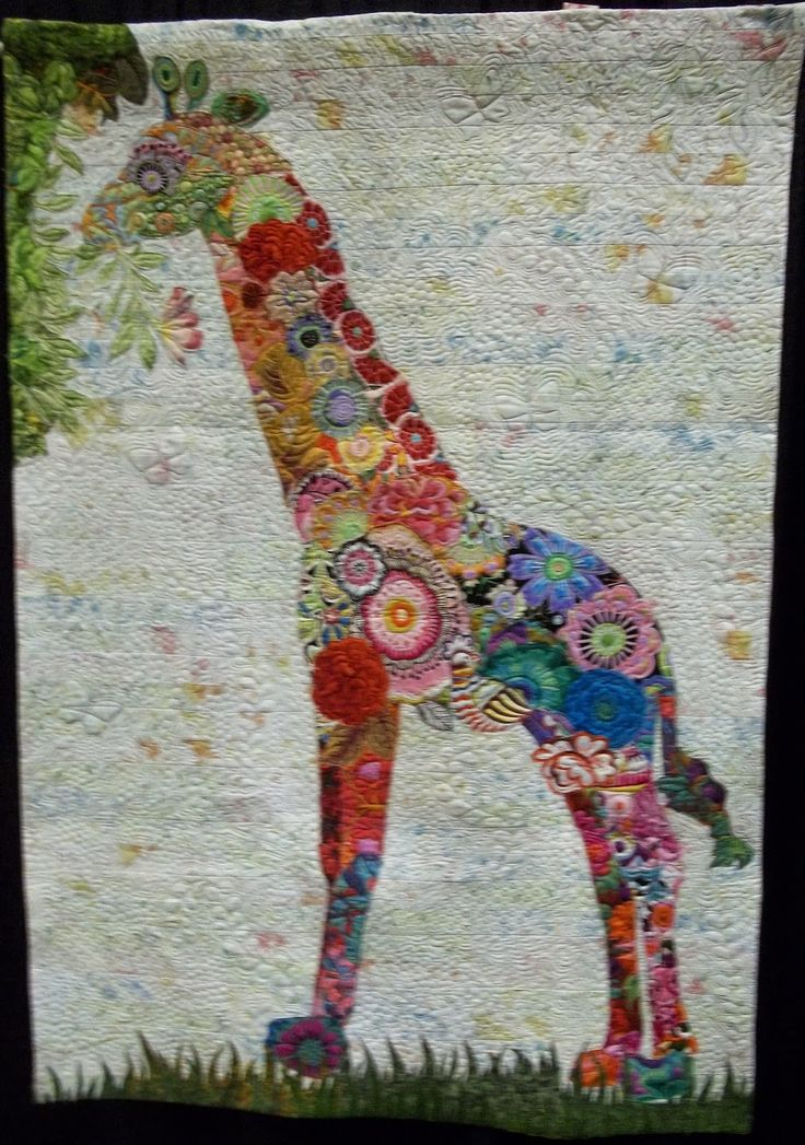 """Ain't I Cute"" by Josie Prell. 2014 Palm Springs (California) quilt festival, photo by Simply Put Plus"