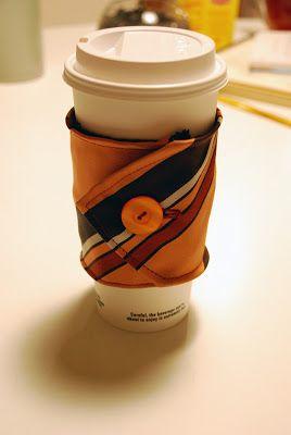 17 Stitched DIY Mug Cozy Tutorials   Shelterness