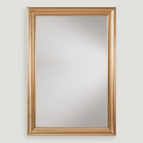 232 best addisonnp first floor images on pinterest for Gold frame floor mirror