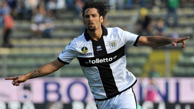 Amauri (Parma) - Parma vs Sampdoria 2-1 - Serie A 2012/2013