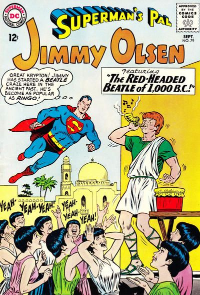 The Twelve Best Covers Of Superman's Pal, Jimmy Olsen | Comics Should Be Good! @ Comic Book Resources