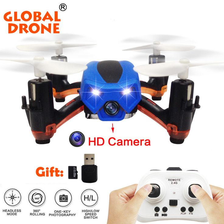 Global Drone GW008C Skull MIcro Drone HD Camera  Drone Mini RC Helicopter Drones Indoor Flight Nano Quadcopters VS JJRC H36 #Affiliate