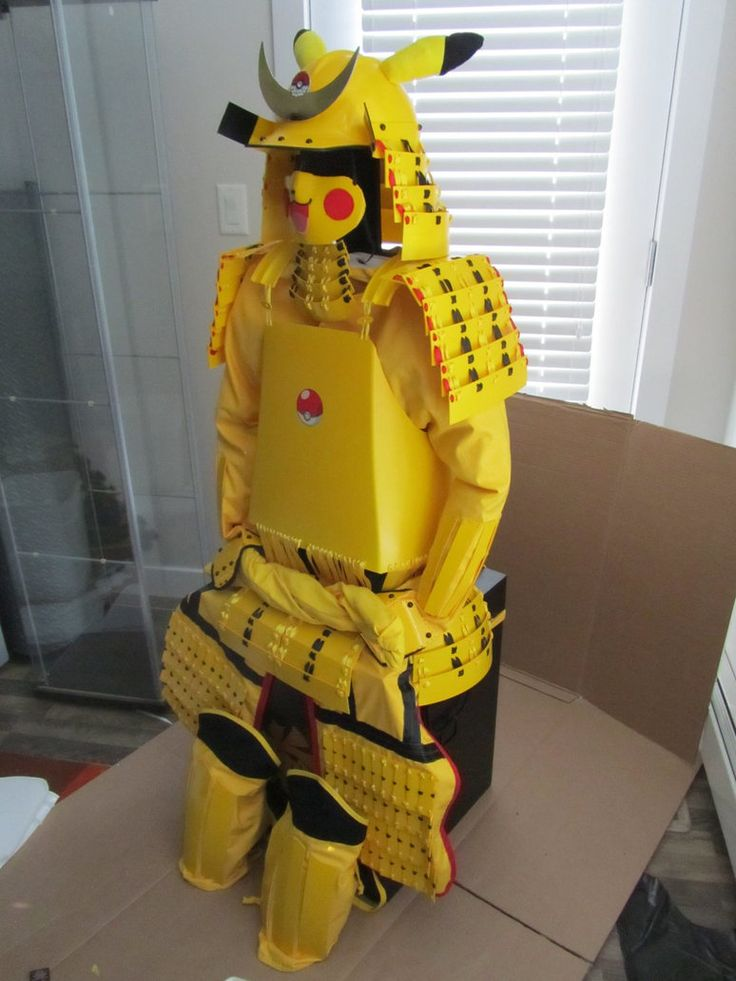 Pikachu Samurai Armor.....haha i went to comic con a couple years ago and i remember seeing a guy walking around in hello kitty samurai armor