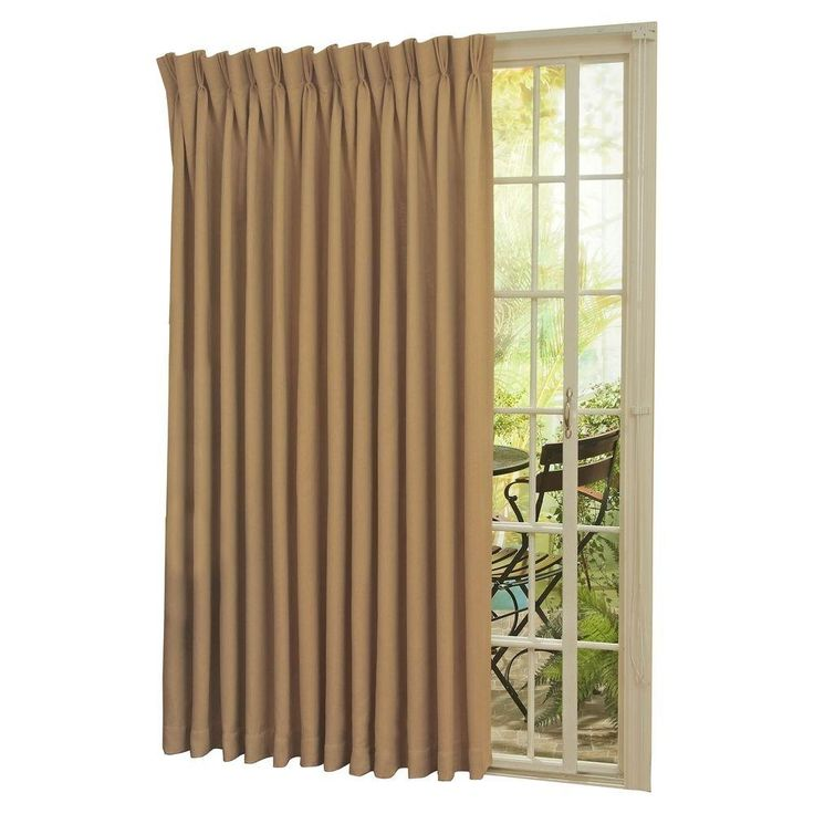 Patio Door Thermal Insulated Drapes