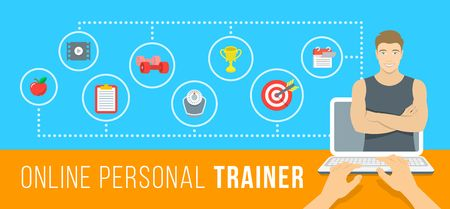 Working with a personal trainer can help you achieve your fitness goals, but working with an online personal trainer can be just as helpful!
