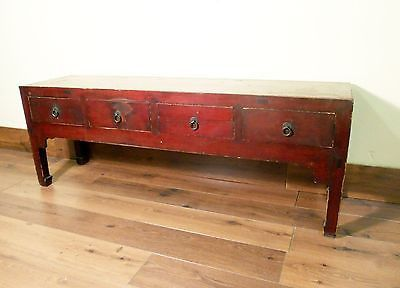 Antique Chinese Ming Cabinet/Coffee Table (5238), Cypress Wood, Circa 1800