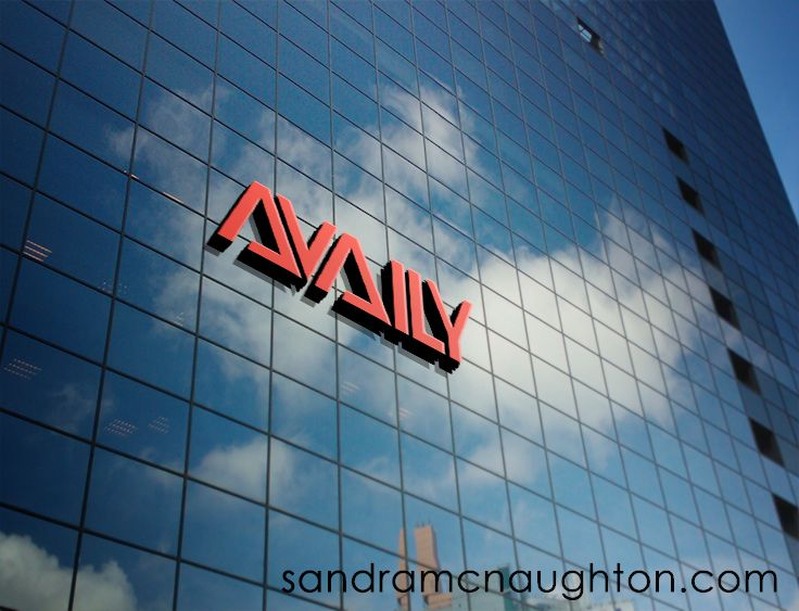 Wordmark made for Availy (think availability). They make presence apps for consumers.