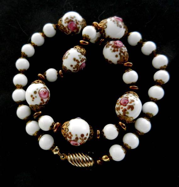 Stunning  authentic  Venetian Fiorato Wedding Cake beads