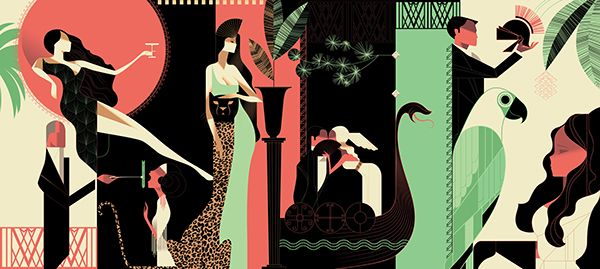 Il Foro Murals on Behance