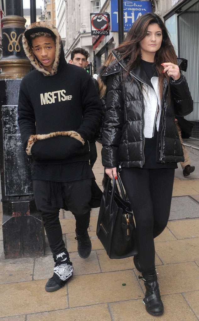 Kylie Jenner and Jaden Smith Grab Sushi in London | KUWTK ...