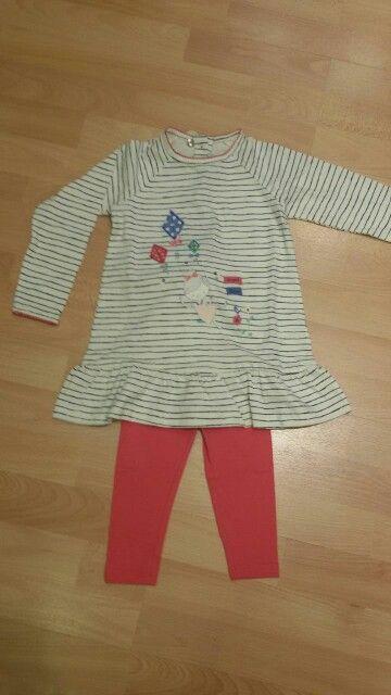 Pijama camisola leggings niña