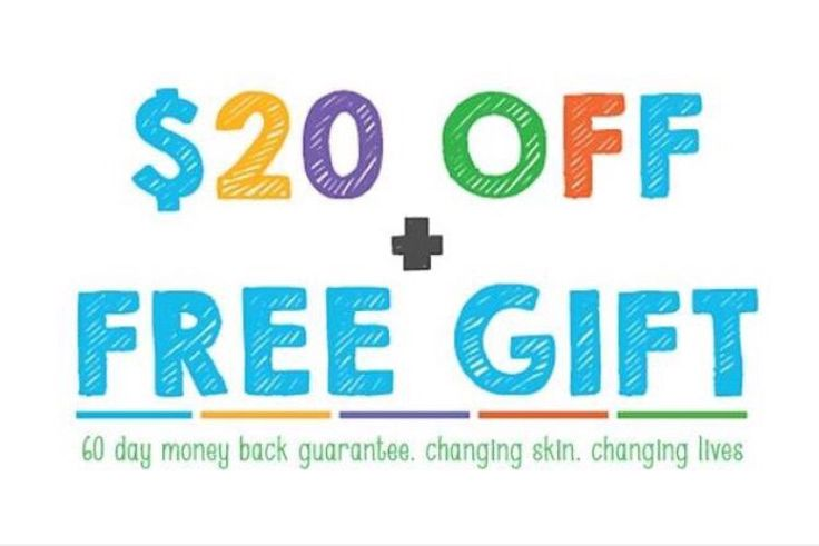 HEY HEY!  Did you say you want a FREE GIFT?  My next TWO preferred customer orders will get $20 CASH BACK and a FREE gift from the Essentials line.   This is a no brainer!!  #rflove #Freebies