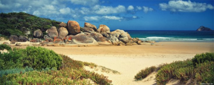 Wilsons Promontory National Park. Victoria. Its this beautiful in real life.