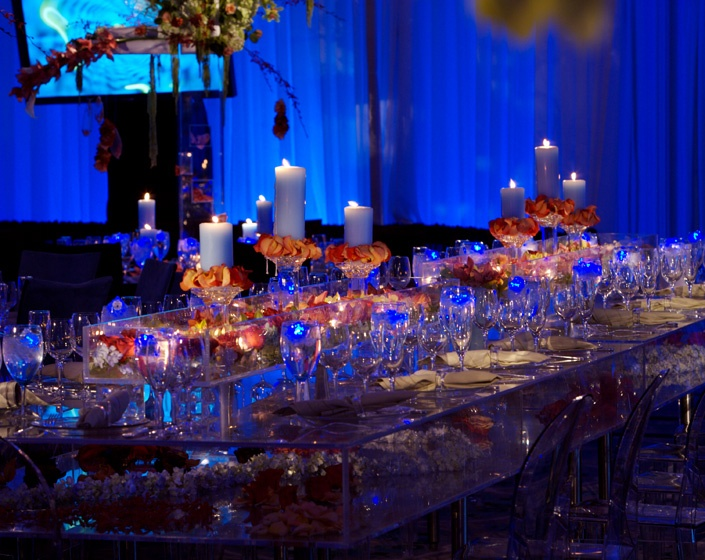 172 best images about opulent weddings on pinterest - Orange and blue decor ...
