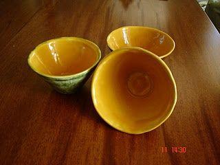 Ensaladeras amarillas