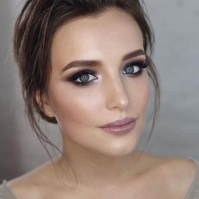 90 Natural And Impressive Wedding Makeup Ideas In 2020 Bridal Smokey Eye Makeup Amazing Wedding Makeup Dramatic Wedding Makeup