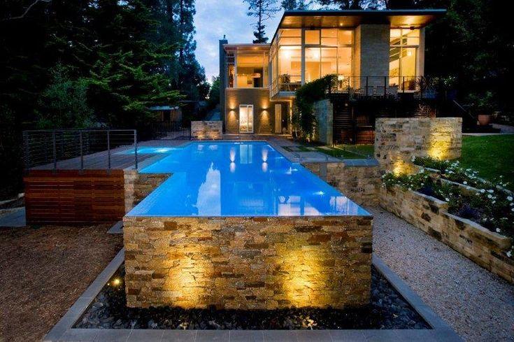 Above Ground Concrete Pools Google Search Lap Pools