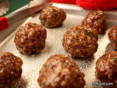My Own Italian Meatballs | Recipe | Meatball Recipes, Sauces and Food