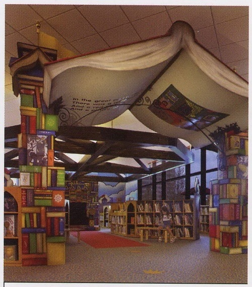 School library- I just loved this