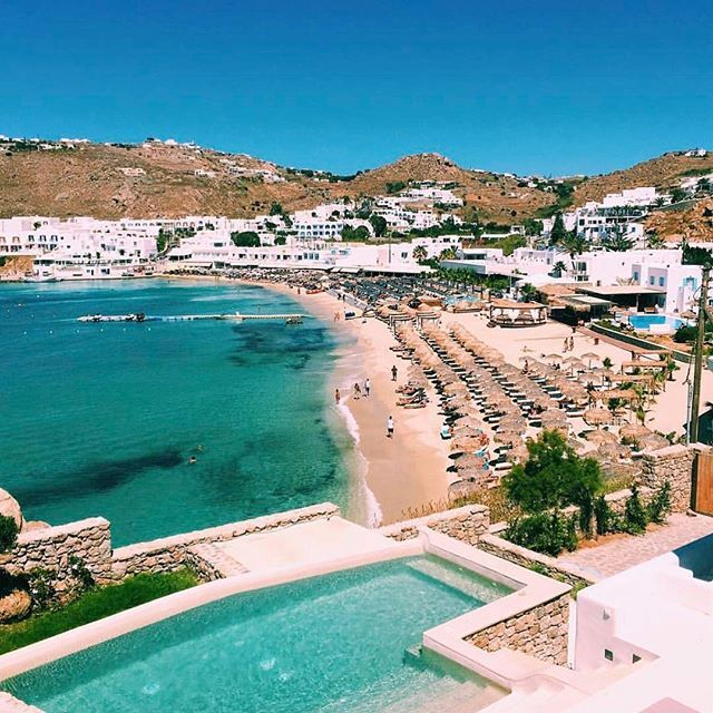 The beautiful coastal town of Mykonos, Greece  #Greece #mykonos #travel #love ☀☀☀