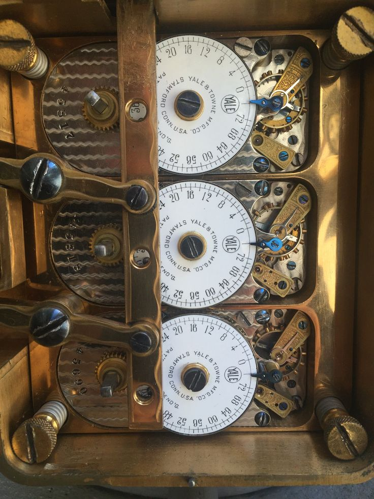 Time Lock Mechanism Mosler Cannon Ball Safe In 2019