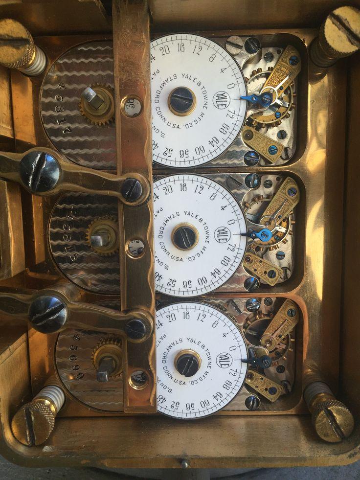 Vintage Bank Vault Door