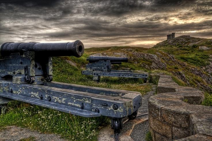 Signal Hill, St. John's, Newfoundland, Canada | by Zach Bonnell, via 500px.