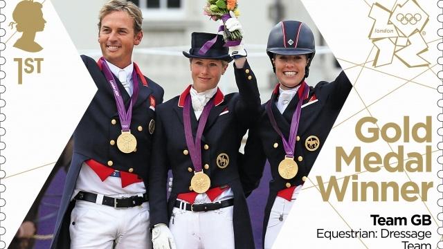 Team GB Gold Medal Winner. Equestrian: Dressage Team