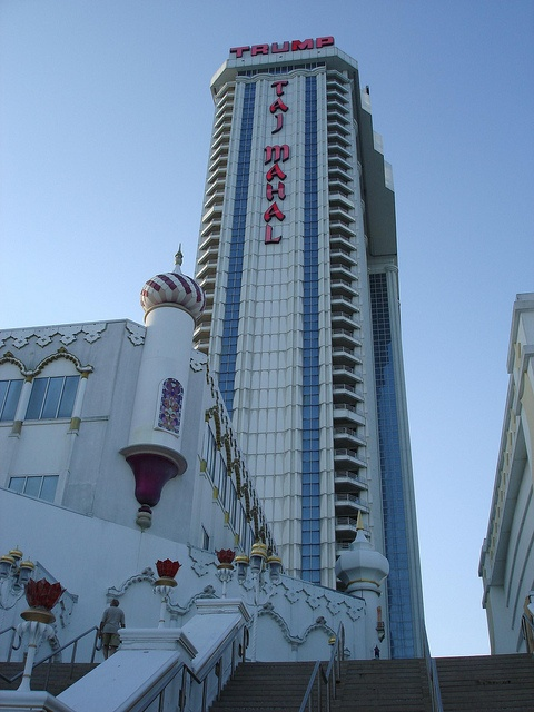 Atlantic City, New Jersey - The Trump Taj Mahal Casino Resort via Flickr