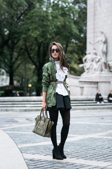 Military Ruffles :: Field jacket