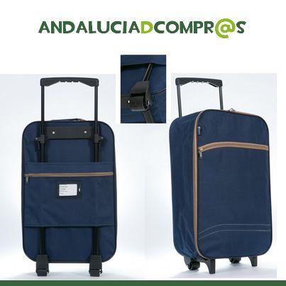 #Rebajas ¿Os gusta viajar? Os dejamos la maleta perfecta para vuelos low cost a un precio increíble!!!  Entra en nuestra web y descubre las maletas Tony cabina plegable por 19 € y el envío GRATIS!!