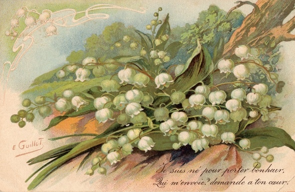 Postcard ~Lily of the valley