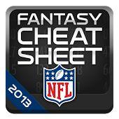 NFL Fantasy Cheat Sheet HD