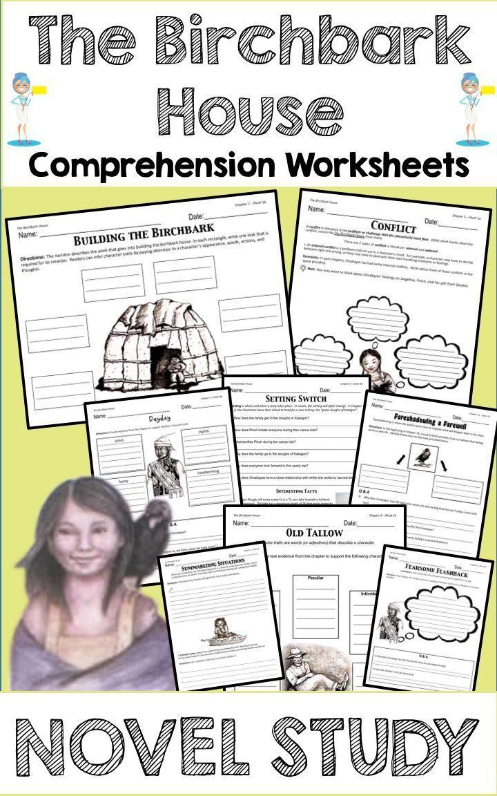 The Birchbark House Novel Study Novel Studies Comprehension Worksheets Book Study [ 1152 x 720 Pixel ]