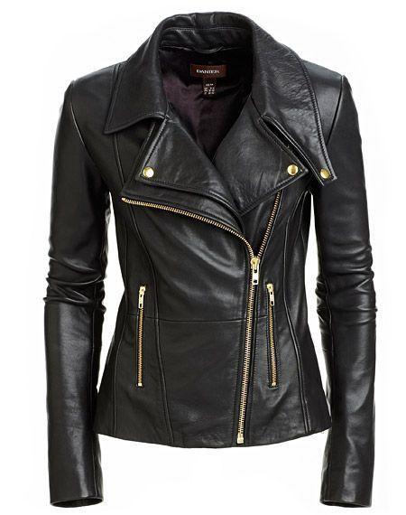 Leather jacket - More Details → http://sharonfashionwebsites.blogspot.com/2013/07/leather-jacket.html.