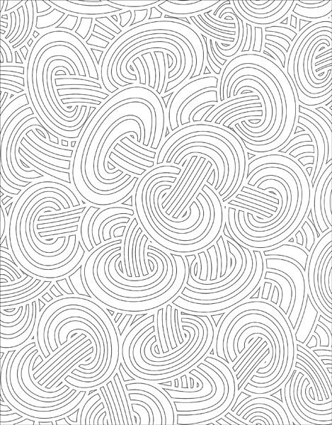 Stress Less Coloring: Psychedelic Patterns from KnitPicks.com Knitting by Various On Sale