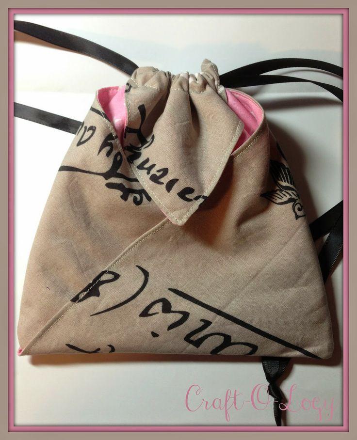 Craft-O-Logy: Origami Bag