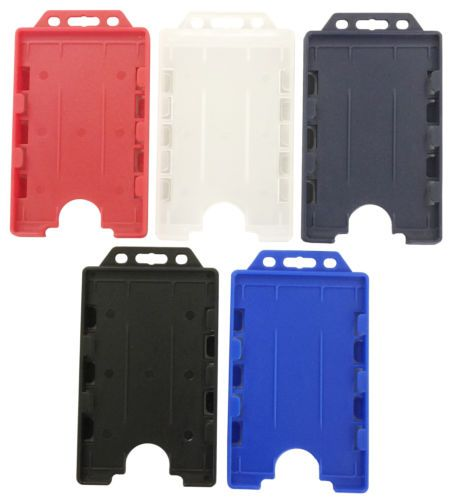 Double-Sided-Portrait-Vertical-ID-Card-Badge-Holder-Holds-Two-Photo-ID-Cards