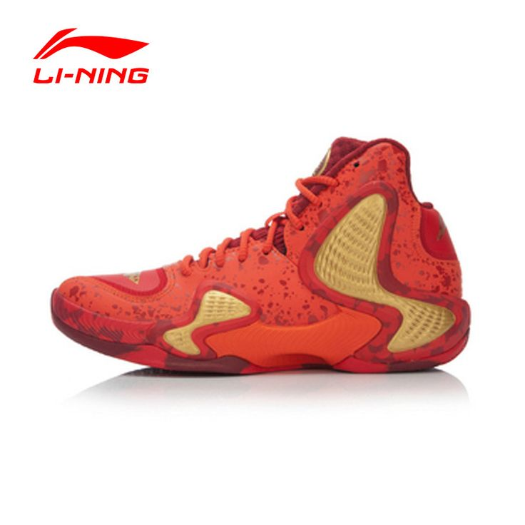LI-NING Men CBA Professional Basketball Shoes LI-NING Cloud Technology Cushioning Lace-Up Sneakers Sport Shoes  ABAL001 XYL065