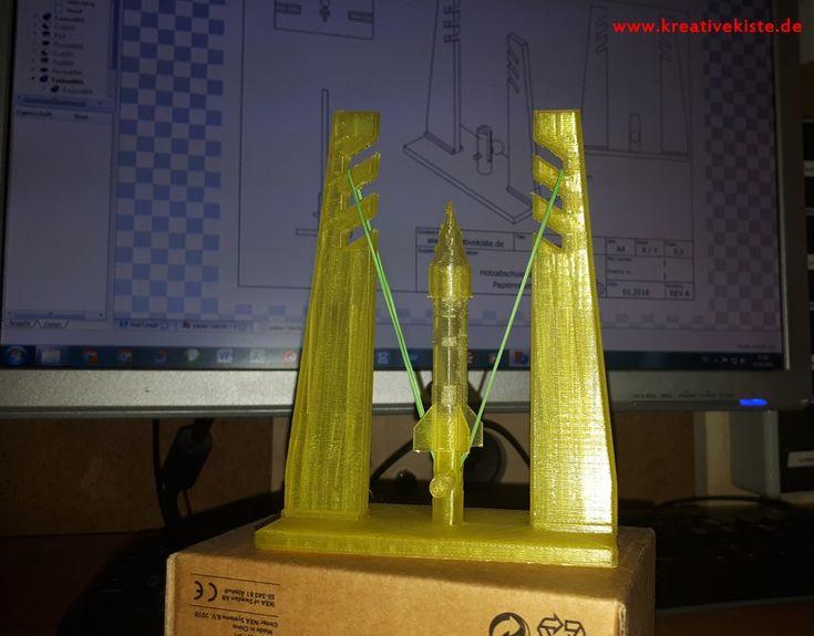 3D Druck Rakete bauen vorlage