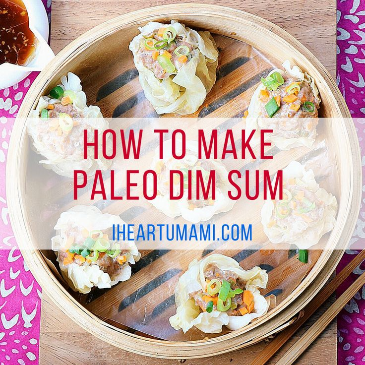 Paleo Dim Sum - Shumai. My Google No.1 dish. #Paleo #Whole30 #Keto friendly.