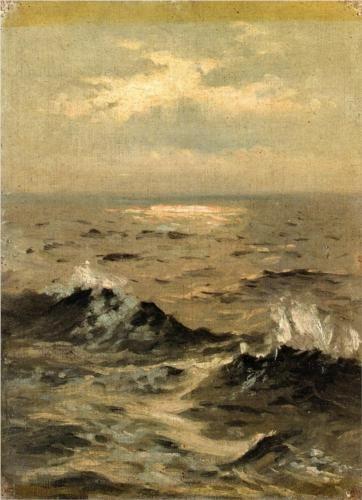 {Blue} Seascape by John Singer Sargent