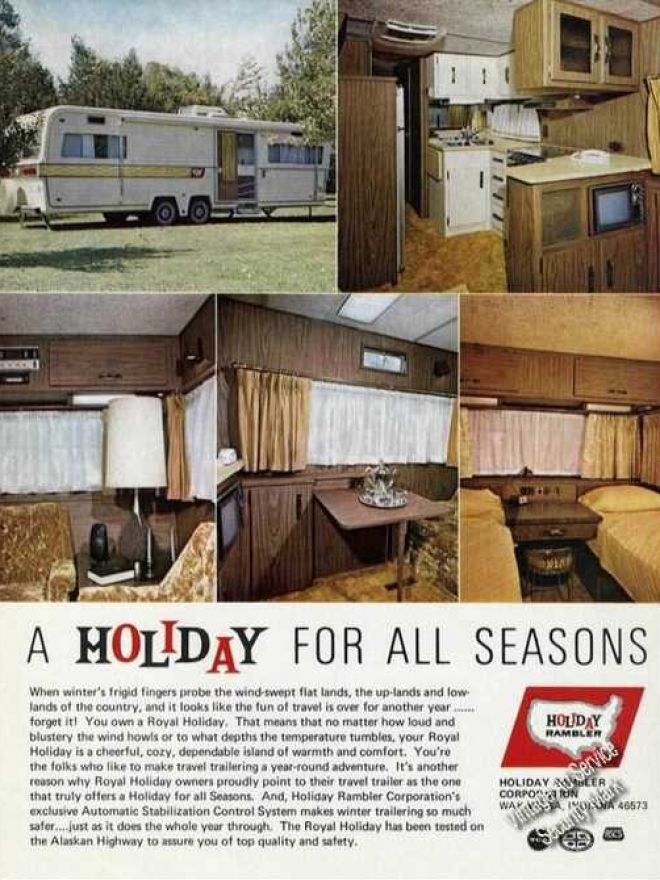 cd6282a7dcc96fae98105d512ea1fbdf trailers vintage vintage campers 1971 holiday rambler travel trailers vintage travel and tourism