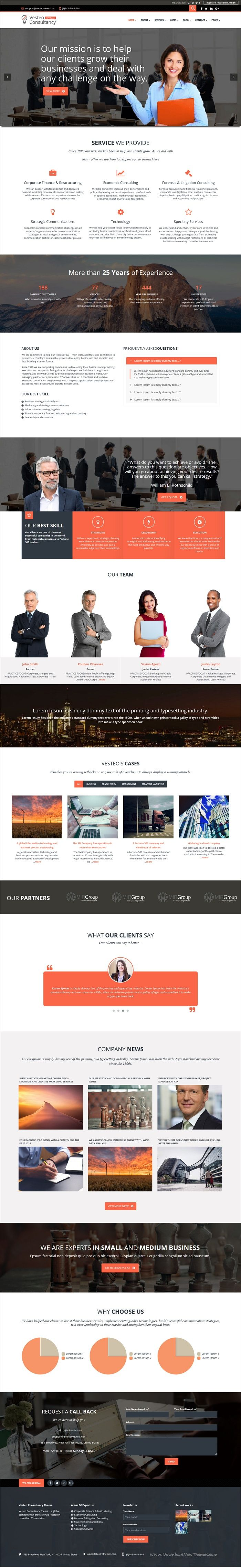 Vesteo is ultimate 2in1 responsive #WordPress theme for #webdev accounting #companies, #consultants, financial advisors, law firms, and other business websites download now➩ https://themeforest.net/item/vesteo-business-multipurpose-responsive-theme/19210818?ref=Datasata