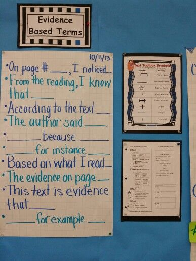 Evidence Examples