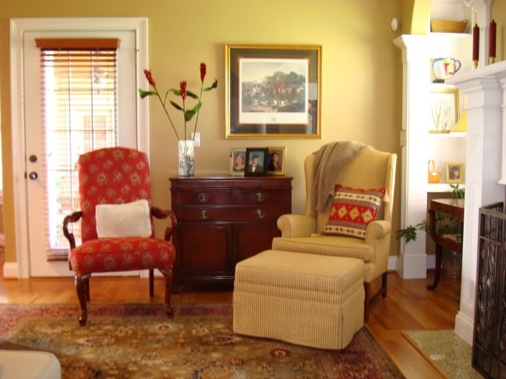 Decatur Buff  BMDecatur Buff, Finish Ideas, Basements Finish, Ranch Colours, Thrift Stor Decor Without, Painting Colors, Families Room, Colours Palettes, Diy Projects