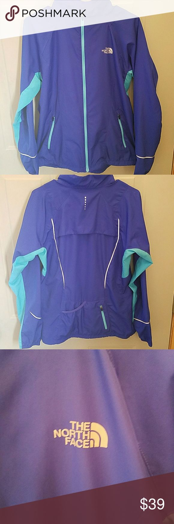 North Face women's running jacket Lightweight, super comfy running jacket. NOT. Never worn The North Face Jackets & Coats