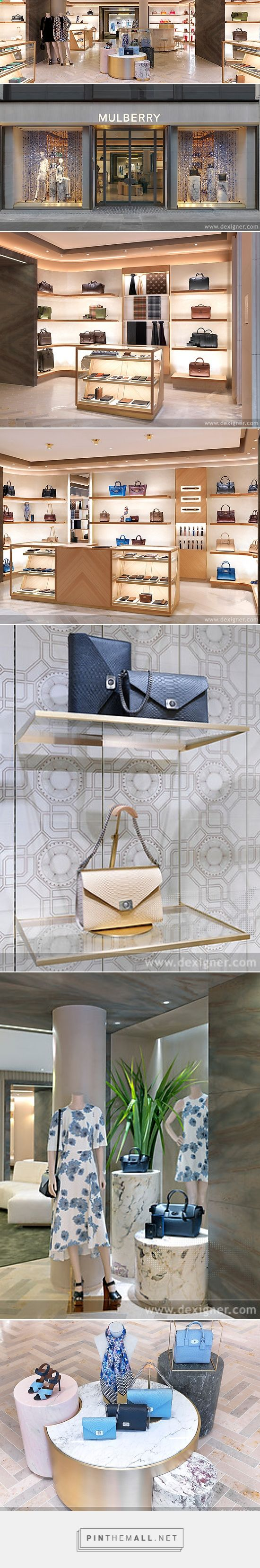 Mulberry Paris Store by Universal Design Studio... - a grouped images picture - Pin Them All